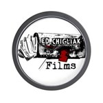 Ed Chigliak Films Wall Clock
