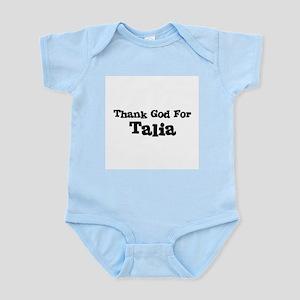 Thank God For Talia Infant Creeper