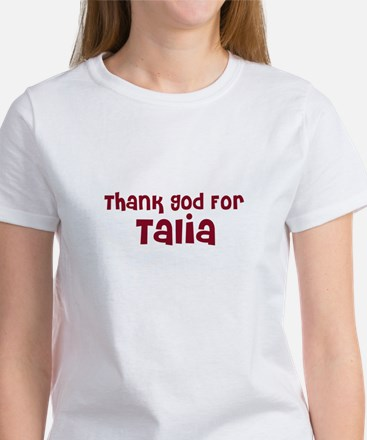 Thank God For Talia Women's T-Shirt