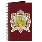 Know It All Garfield Journal