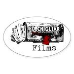 Ed Chigliak Films Sticker (Oval)
