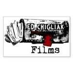 Ed Chigliak Films Sticker (Rectangle)