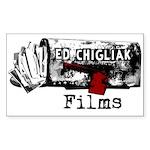 Ed Chigliak Films Sticker (Rectangle)