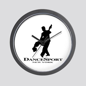Couple Silhoutte DS NY Wall Clock