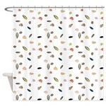 Sea Shells and the Sea Shower Curtain