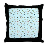 Shells and the Sea Throw Pillow