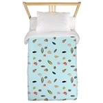 Shells and the Sea Twin Duvet Cover