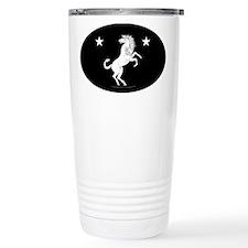 Meridies Populace Badge Stainless Steel Travel Mug