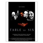 Table for Six Small Poster