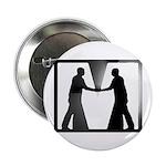 "Mirror Image Symbol 2.25"" Button"