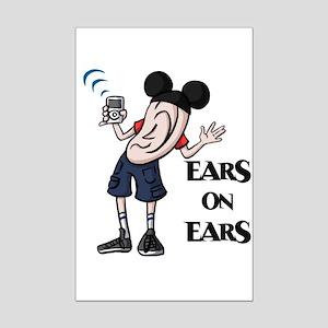 Ear Guy Mini Poster Print