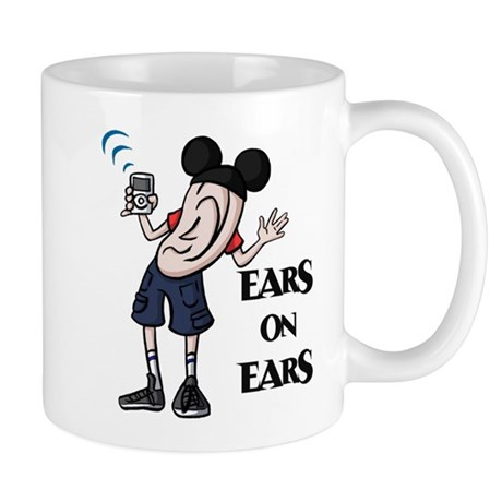 DizFanatic's Ear Guy Mug