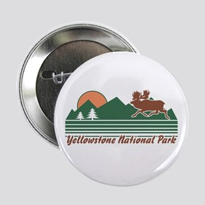 """Yellowstone National Park 2.25"""" Button"""