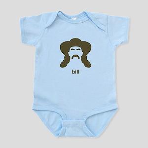 Wild Bill Hickok Hirsute Infant Bodysuit