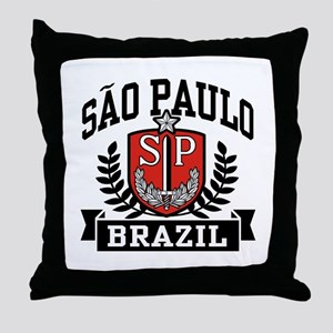 Sao Paulo Brazil (State) Throw Pillow