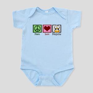 Peace Love Penguins Infant Bodysuit