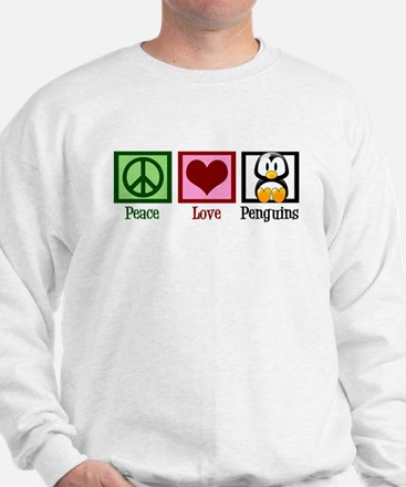 Peace Love Penguins Sweatshirt