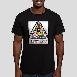 Billard Gear 1 Men's Fitted T-Shirt (dark)