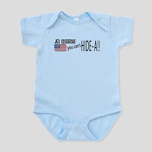 Al Quada can't Hide-a!! Infant Bodysuit