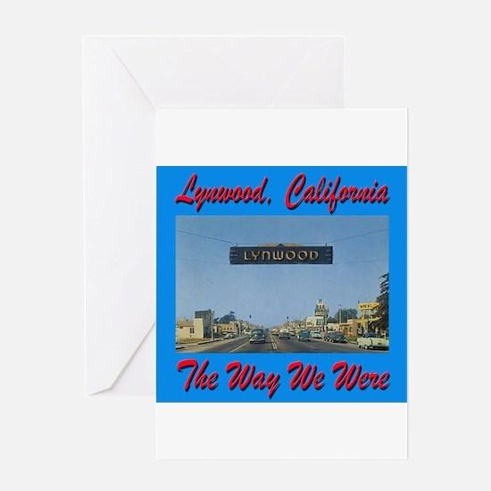 Lynwood California Greeting Card