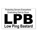 LPB Rectangle Sticker