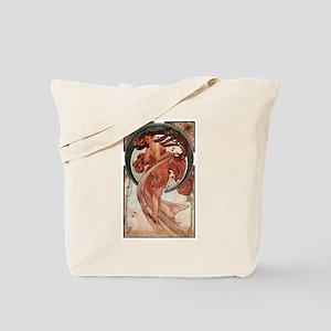 Alphonse Mucha Tote Bag