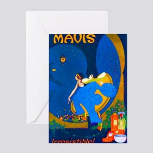 Art Deco Best Seller Greeting Card