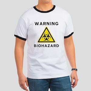 Biohazard Warning Sign Ringer T