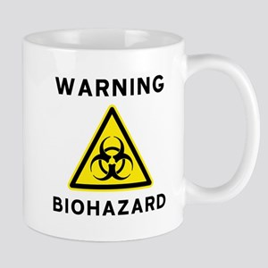 Biohazard Warning Sign Mug
