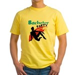 Sexy Bachelor Party Yellow T-Shirt