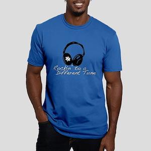 Autism Men's Fitted T-Shirt (dark)