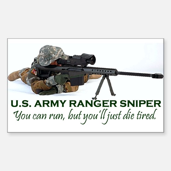 Military Special Forces Sticker (Rectangle)