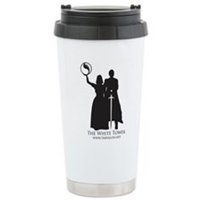 Aes Sedai and Warder Stainless Steel Travel Mug