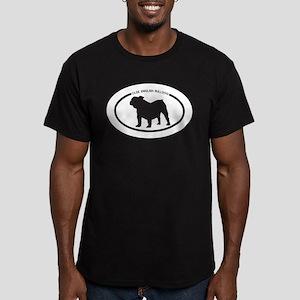 Olde English Bulldog Men's Fitted T-Shirt (dark)