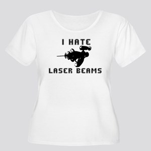 I Hate Laser Beams Women's Plus Size Scoop Neck T-
