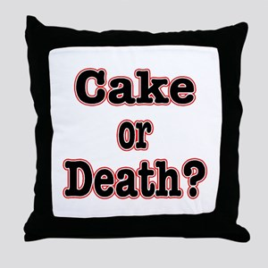 OR Death???? Throw Pillow
