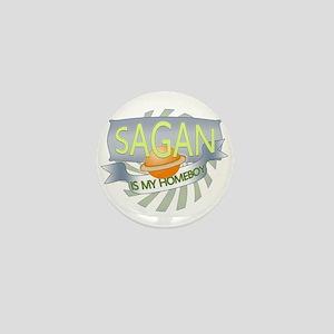 Sagan is my Homeboy Mini Button