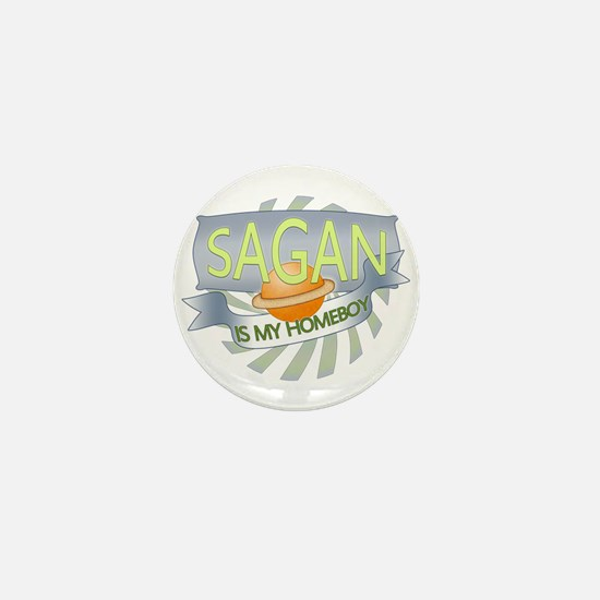 Sagan is my Homeboy Mini Button