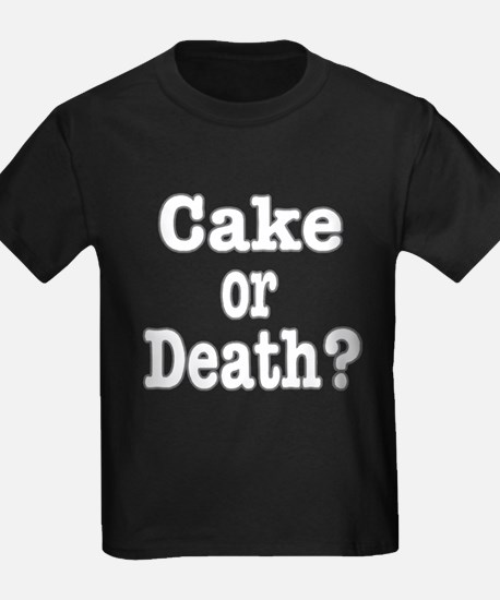 Cake or Death white T