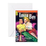 """Greeting (10)-""""Lover Boy"""""""