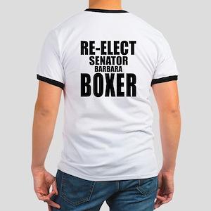 Re-Elect Sen. Boxer Ringer T