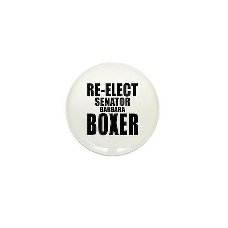 Re-Elect Sen. Boxer Mini Button
