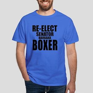 Re-Elect Sen. Boxer Dark T-Shirt