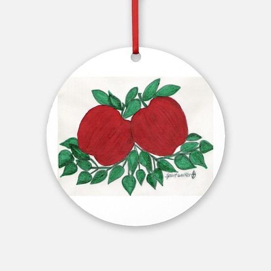 Apple/ Ornament (Round)