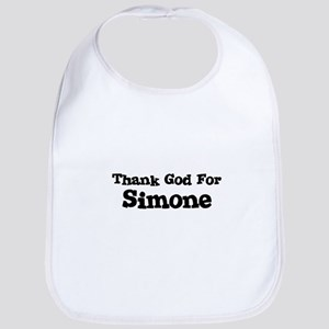 Thank God For Simone Bib