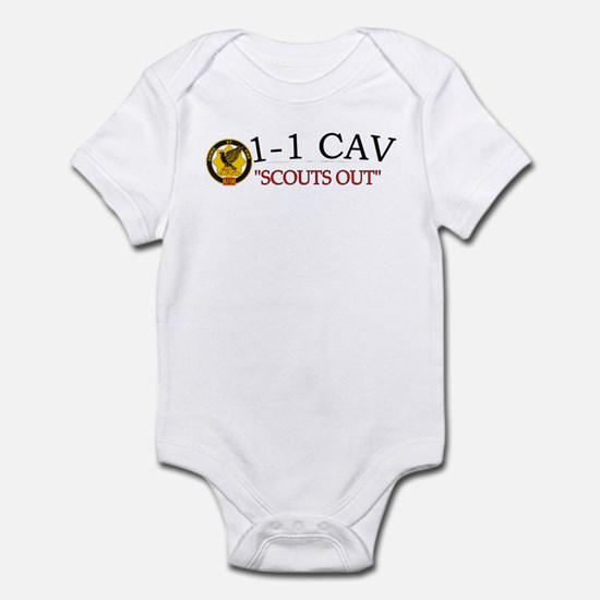 1st Bn 1st Squadron Infant Bodysuit