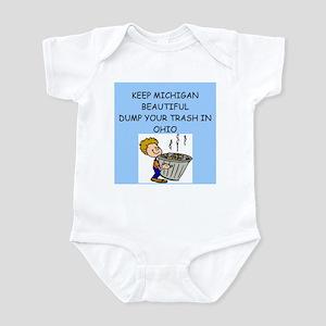 keep michigan beautiful Infant Bodysuit