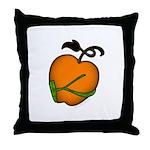 Golden Apple of Eris Throw Pillow