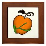 Golden Apple of Eris Framed Tile