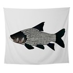 Giant carp barb Wall Tapestry